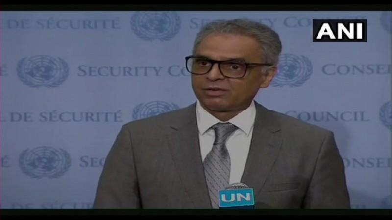 संयुक्त राष्ट्र में भारत के स्थायी प्रतिनिधि सैयद अकबरुद्दीन