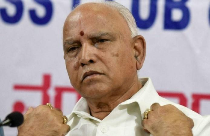 कर्नाटक के मुख्यमंत्री बीएस येदियुरप्पा