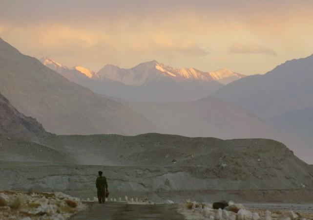 लद्दाख में भारत-चीन सीमा