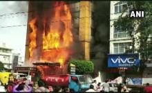 मध्य प्रदेश: इंदौर के पांच सितारा होटल में लगी आग, कई लोगों के फंसे होने की आशंका