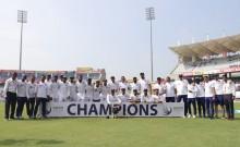 दक्षिण अफ्रीका को पारी और 202 रनों से हराकर टीम इंडिया ने मजबूत की विश्व टेस्ट चैंपियनशिप की शीर्ष स्थिति