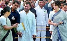 सीआरपीएफ ने संभाला सोनिया गांधी, राहुल और प्रियंका की सुरक्षा का जिम्मा
