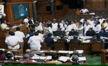 गांधी परिवार से एसपीजी सुरक्षा हटाने के खिलाफ कांग्रेस ने किया लोकसभा से वॉकआउट, कहा- कुछ हुआ तो सरकार होगी जिम्मेदार