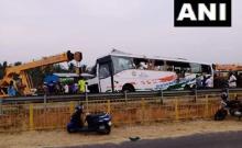 कोयंबटूर बस हादसा: केरल जा रही बस तमिलनाडु में ट्रक से टकराई, 20 की मौत, कई घायल